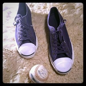 Plum Converse Jack Purcell Sneakers